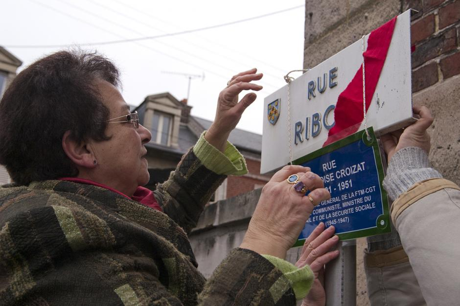Hommage à Ambroise Croizat, bâtisseur de la Sécurité sociale - Creil, 17 février 2012